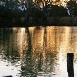 Murrumbidgee at Hay - sunset