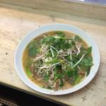 Duck noodle broth