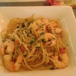 Spaghetti con gamberi e zucchine (veramente ottimo)