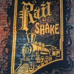 Wall art Rail Shake logo
