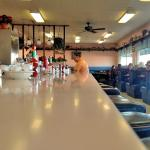 Counter service at The Dixie Pig
