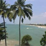Colombo coast line, view 10 minute ride away