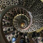 Spiral stairs going down