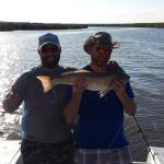 Limit of redfish on the apalachicola bay