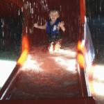 littler water slides