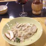Maltagliati Al Porcini - pasta with fresh Porcini mushrooms. Food orgasm.