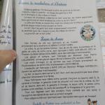 La liste des produits locaux utilisés par la crêperie Le Préau