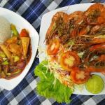 King prawns and Devilled Calamari!!!