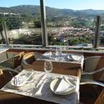 A vista do nosso restaurante