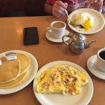 Denver Omlette & pancakes