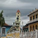 sur la Plazza Mayor de trinidad