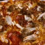 Pizza called Pet Cemetery - pure meat
