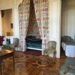 L'une des chambres du château à visiter