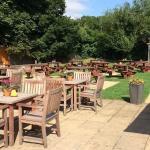 Our lovey beer garden.