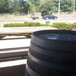 They got the barrels.