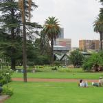 View across the Park grounds