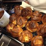 Sunday Roasts with homemade Yorkies!