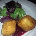 Deep fried cheese, delicious!!