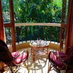 Sunny balcony, Hibiscus Suite