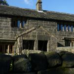 Historic handloom weavers cottages facing YHA
