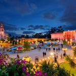 Balboa Park, an urban cultural park with museums, beautiful gardens and theatres.