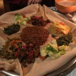 Äthiopische Platte