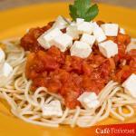 spaghetti con salsa silchi