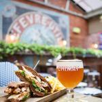 Enjoy great food and beverages at Belgian Beer Cafe