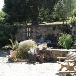 Chez Jallot sunken garden