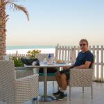 Excellent cafe on Jumeirah Beach.