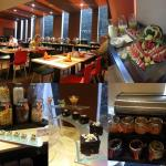 Lovely buffet breakfast options which were all beautifully displayed. Asian & Western options