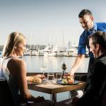 Picture perfect dining on the banks of the Swan River
