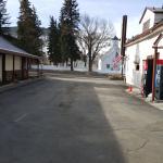 parking lot towards south facing rt. 40