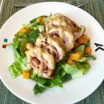 Chicken Cordon Blue Salad