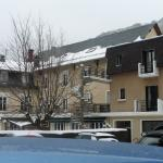 vue générale sous la neige