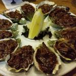 1 Doz. Kilpatrick oysters at Carmel's Bar and Grill, Mclaren Vale SA