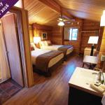 Newly remodeled guest cabins for 2016!