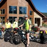 Cross-Country riders, Seattle to Maine