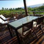 Lodge Vetyver - Terrasse vue Ocean