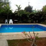 This is the swimming pool, about 7ft