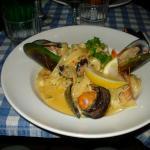 Tagliatelle aux fruits de mer