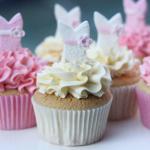 Ballerina Cupcakes make to order, Vanilla custard or Raspberry.
