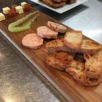 Paté y foie gras