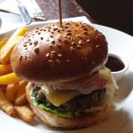 The gourmet steak burger which was outstanding with some of the best fries I have had in years.