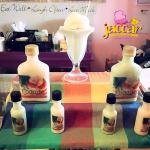 Now serving Crucian Paradise Drinks' Original Coquito and Pistachio Coquito