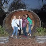 Giant barrel out front for fun pics!