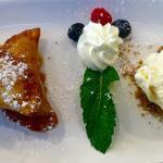 Love the desserts