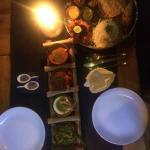 The Goan 5 Platter, an absolute taste sensation!