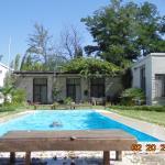 Piscina, ideal para nadar y relajarse