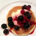 Breakfast Buffet - Pancakes, Yoghurt and Berries